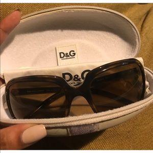 D&G Vintage Tortoise Sunglasses